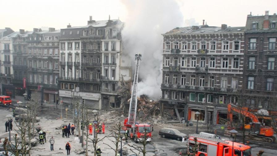 Четирима българи загинали във взривената сграда в Лиеж