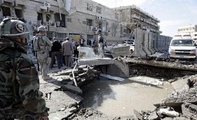 Жена камикадзе уби над 40 души в Багдад