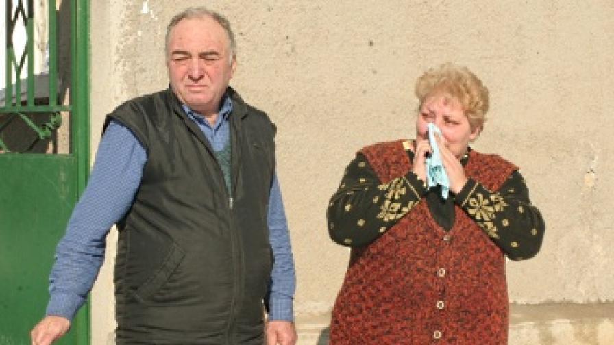 Роднините на убития полицай разбрали от телевизията