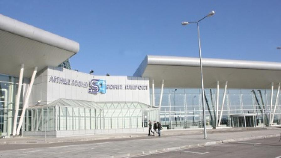 На летище София арестуваха мъж с 5 кг хероин в багажа