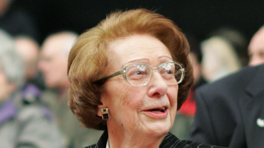 Леда Милева чества 90-годишнина