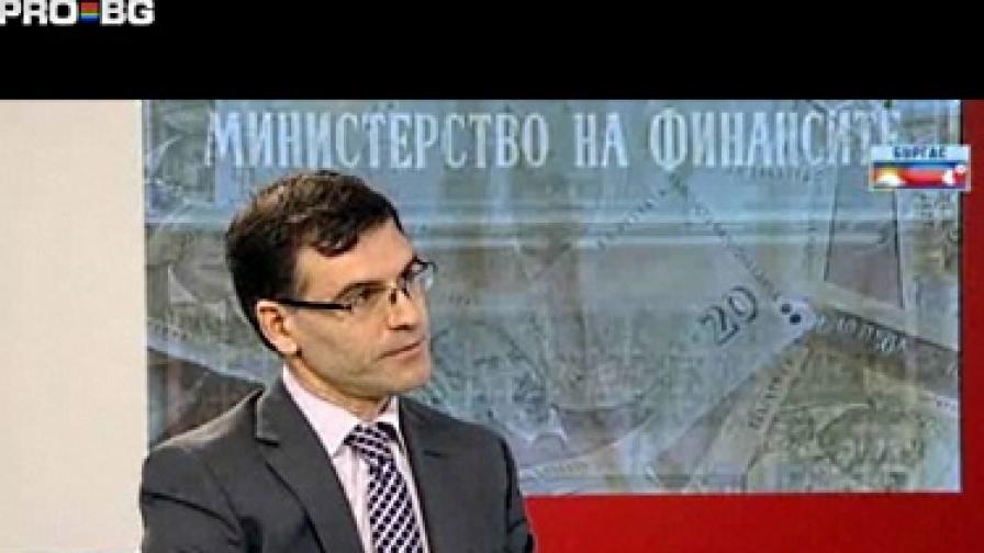 """Симеон Дянков разговаря с Георги Любенов в """"Новините"""" на PRO.bg"""