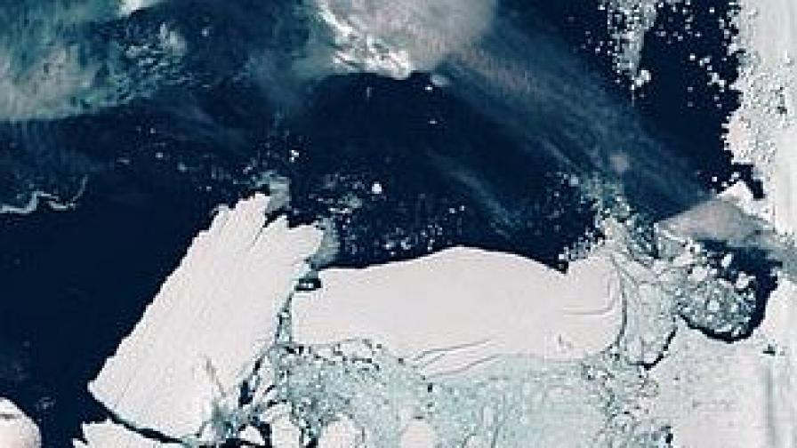 Мегаайсберг може да изстуди зимите в Европа