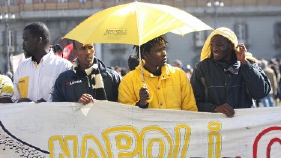 """Имигрантите в Италия започват """"жълта"""" революция"""