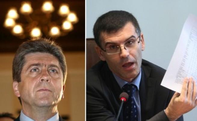 Първанов иска оставката на Дянков