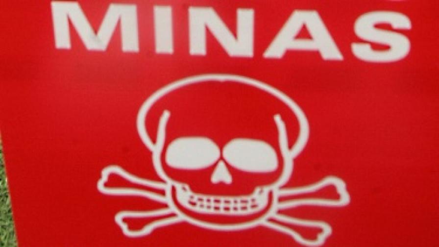 7 противотанкови мини откриха край сметище