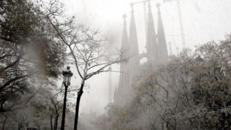 Сняг затрупа Барселона