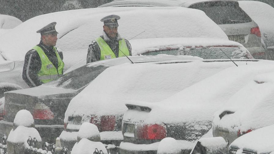 В Хасково обявиха бедствено положение заради снега