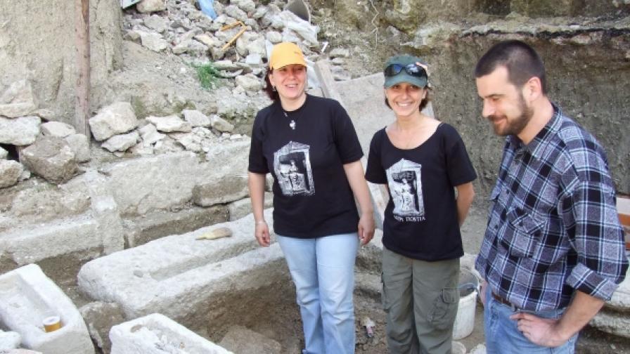 Грижа за храма на Кибела в Балчик