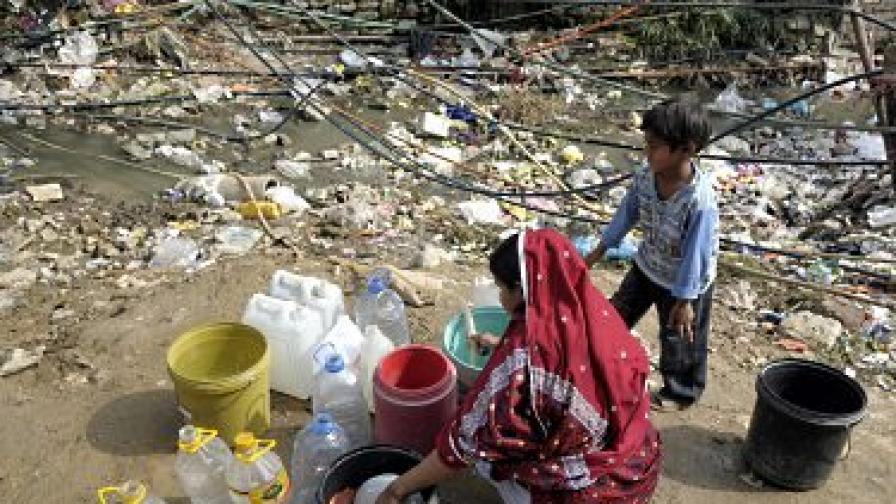 ООН: Замърсената вода убива милиони деца годишно