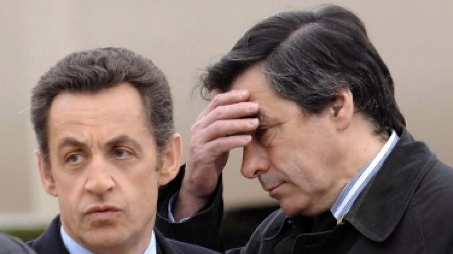 Саркози направи козметични промени в кабинета