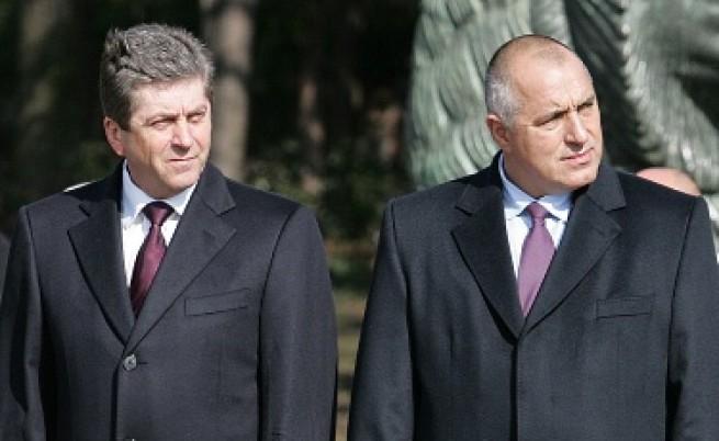Борисов и Първанов си пазят силите
