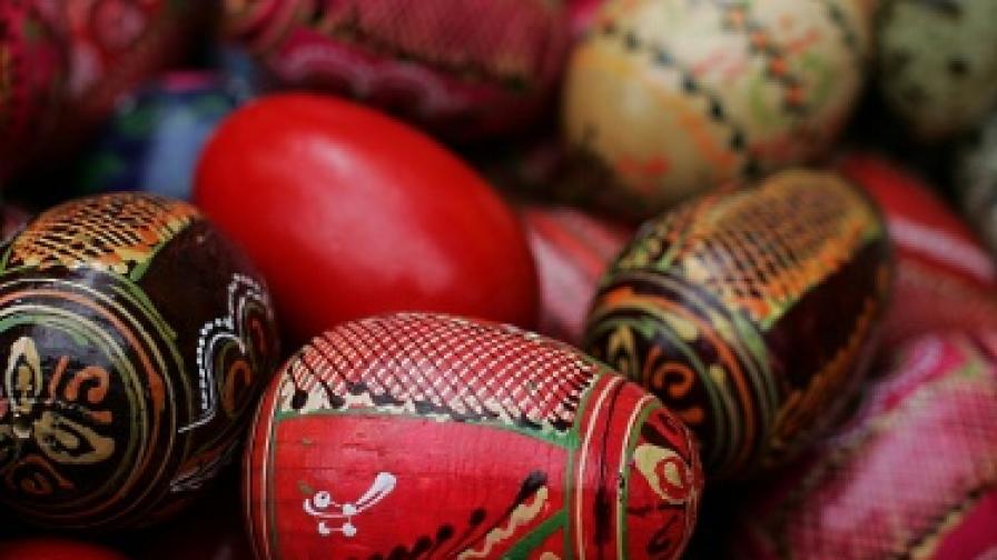 Шарените яйца