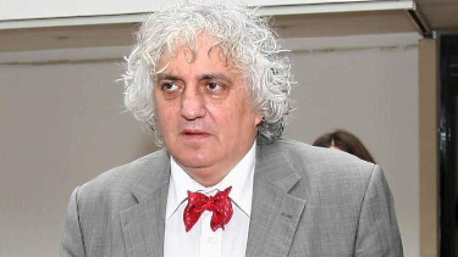 Председателят на СЕМ доц. Георги Лозанов