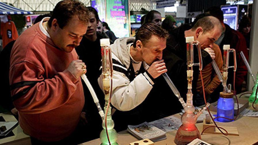 В САЩ правят панаир на марихуаната