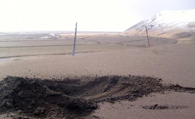 Вулканичната пепел трови животните в Исландия