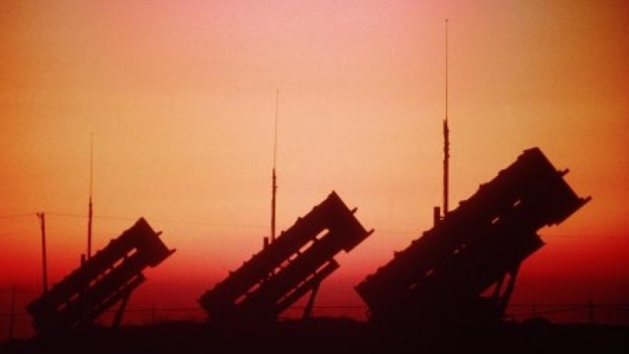 """Американски ракетни установки """"Пейтриът"""" (архив)"""