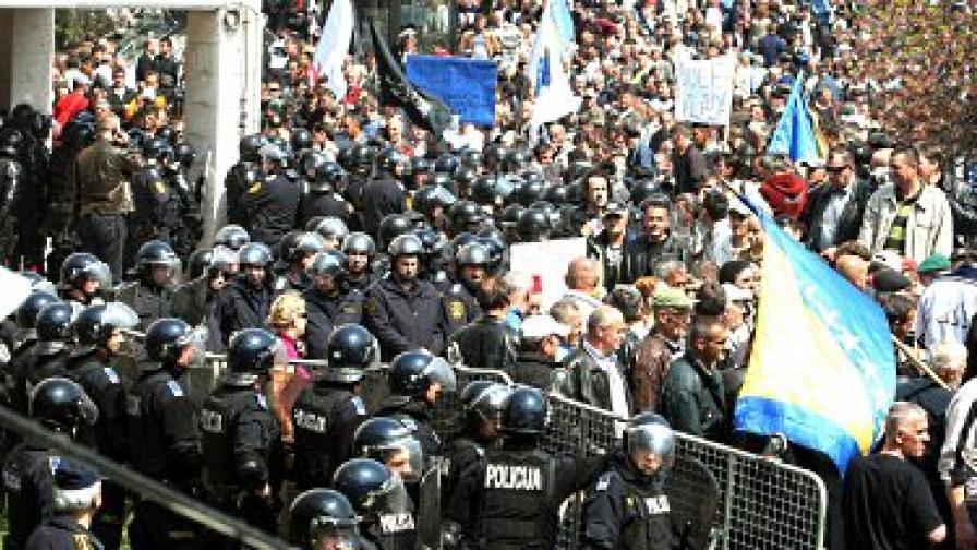 Босна и Херцеговина на финалната права за НАТО