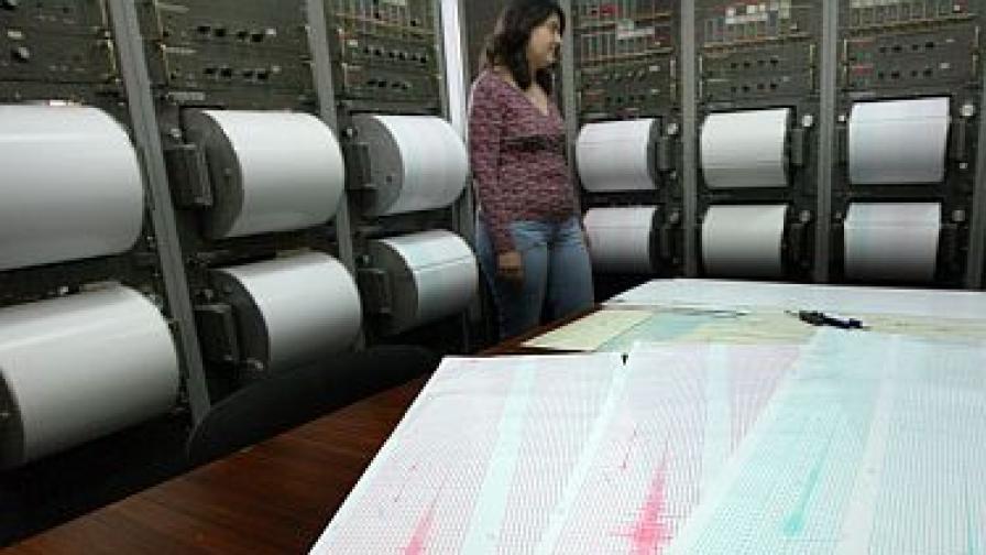 Земетресение от 3,2 по Рихтер край София