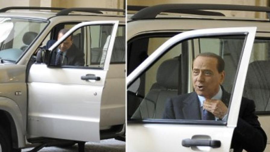 Берлускони не хареса руския си джип