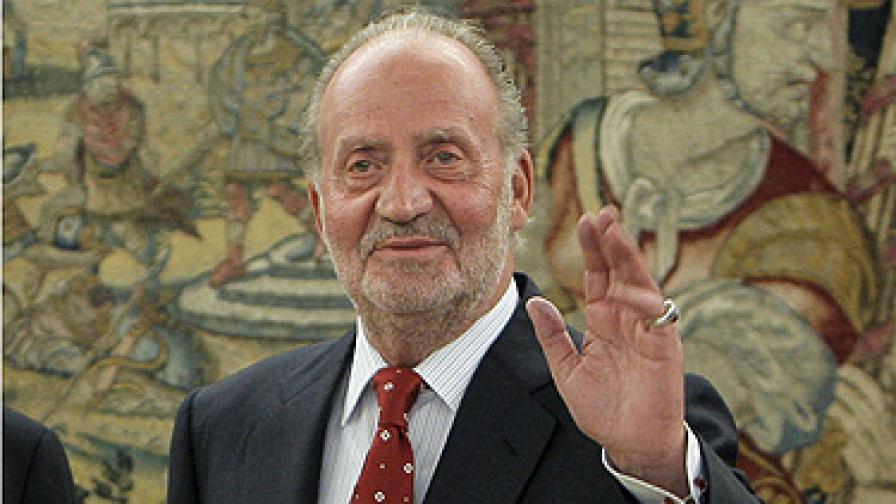 Туморът на крал Хуан Карлос бил доброкачествен
