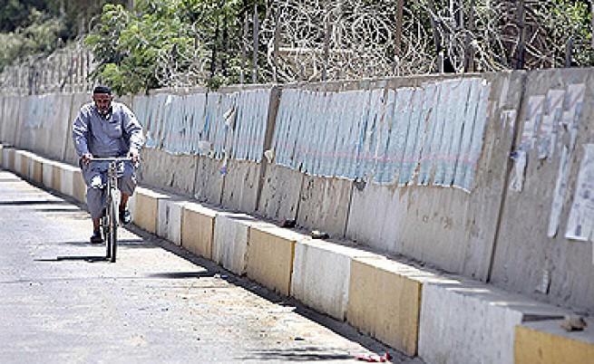 Багдад се огражда със стена