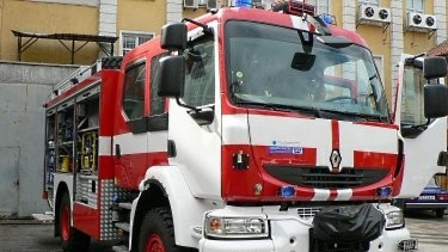 """Авария в стъкларския завод """"Рубин"""" в Плевен"""