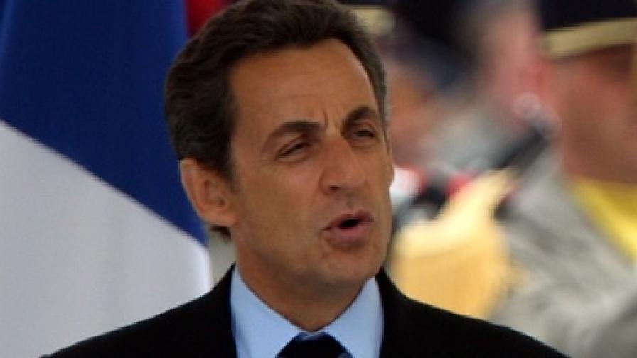 Саркози жертва социални мерки заради кризата