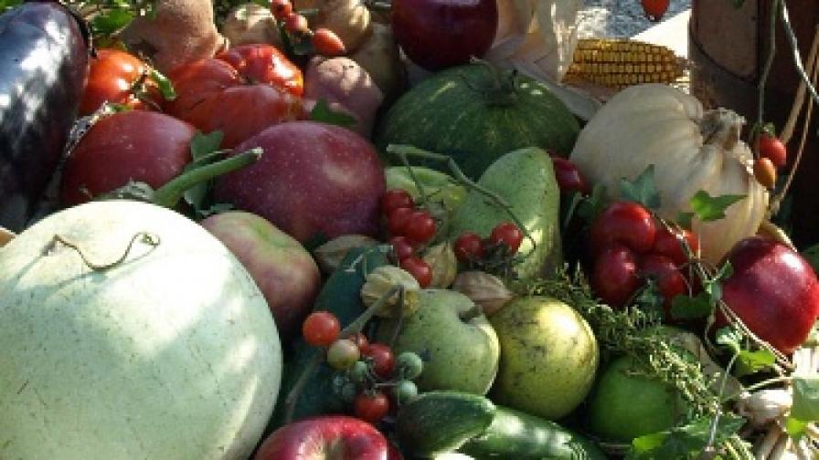 Май не ядем съвсем чисти зеленчуци
