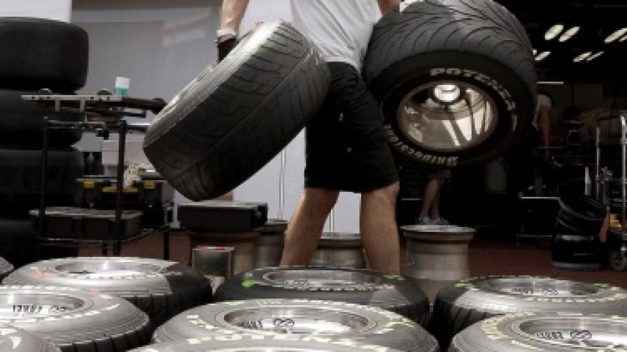 И автомобилните гуми поумняха