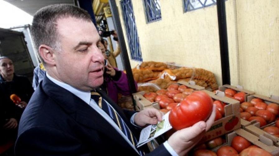 Мирослав Найденов: И от Турция идват заразени домати