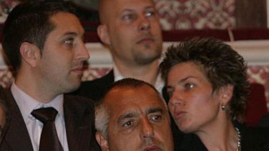 """Бойко Борисов по време на връчването на наградите на фондация """"Димитър Бербатов"""" тази вечер"""