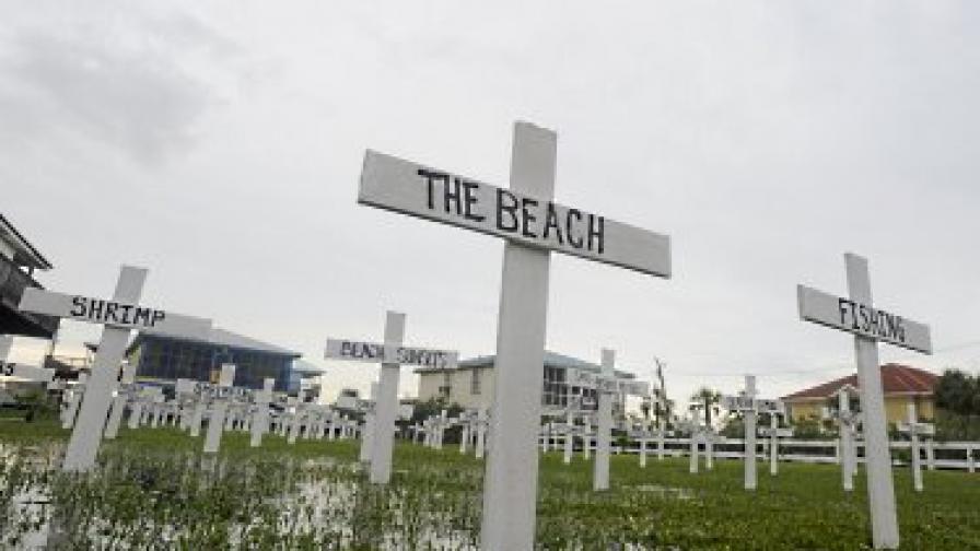 Борят петното край САЩ с изкуствени острови
