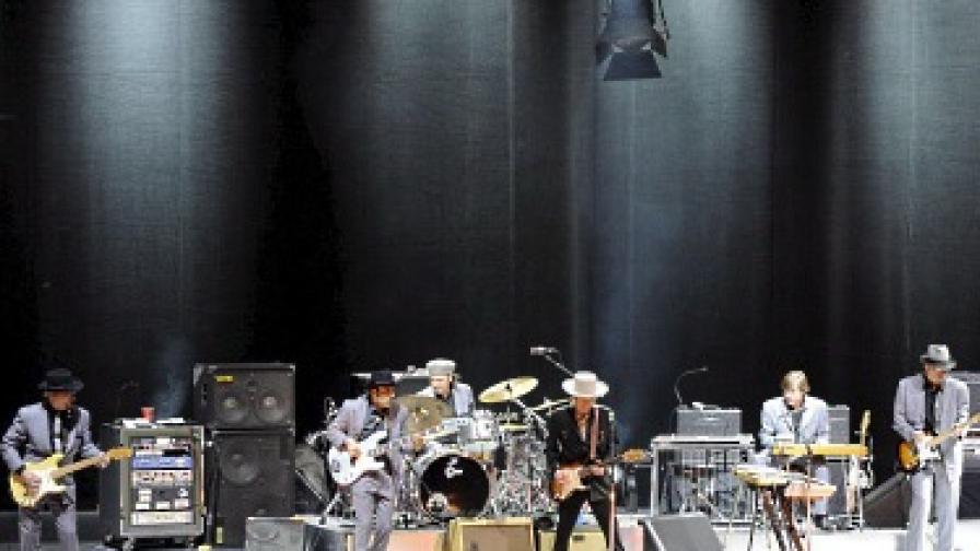Архивна снимка от негов концерт в Мексико на 13 март 2008 г.