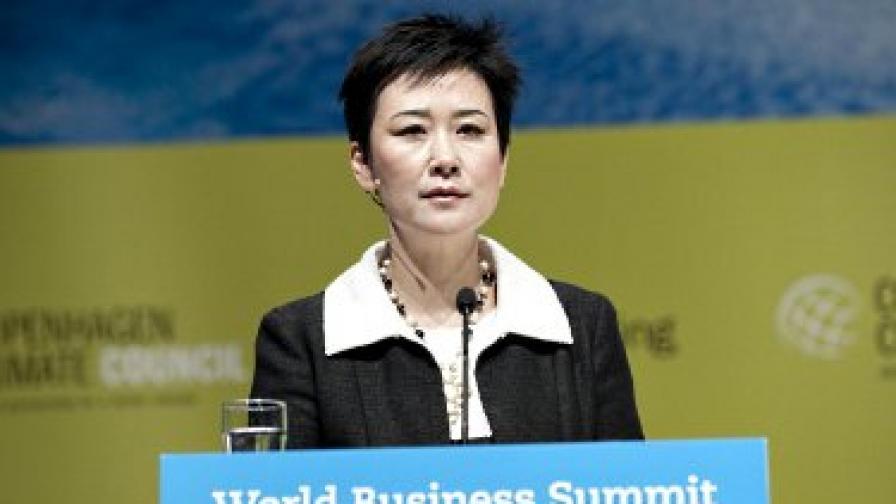 """Ли Сяолин, дъщеря на маоисткия премиер Ли Пън и главен мениджър на """"Чайна пауър интернешънъл дивелъпмънт"""""""