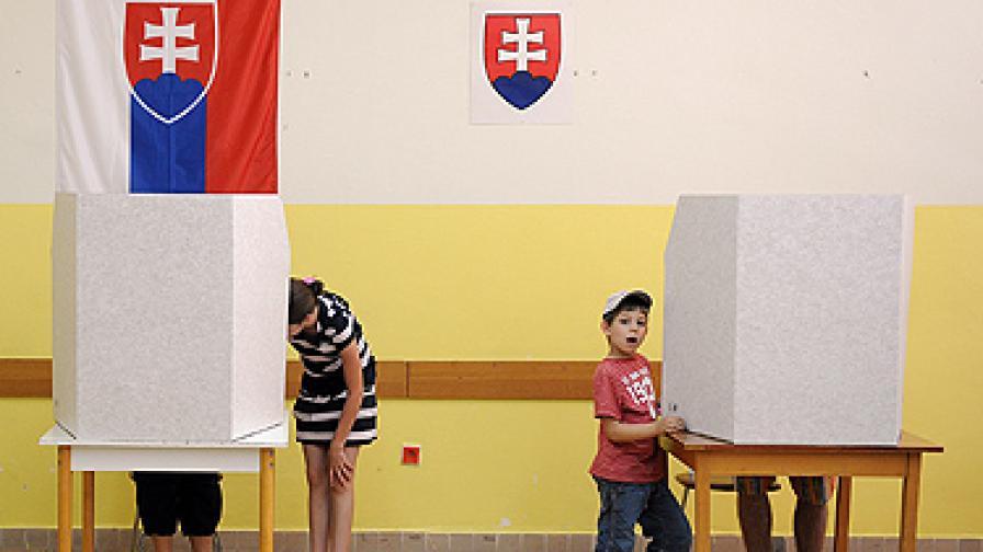 В Словакия: Всичко за избирателя