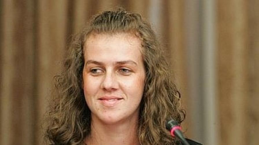 Спаска Митрова в София през есента на 2009 г.