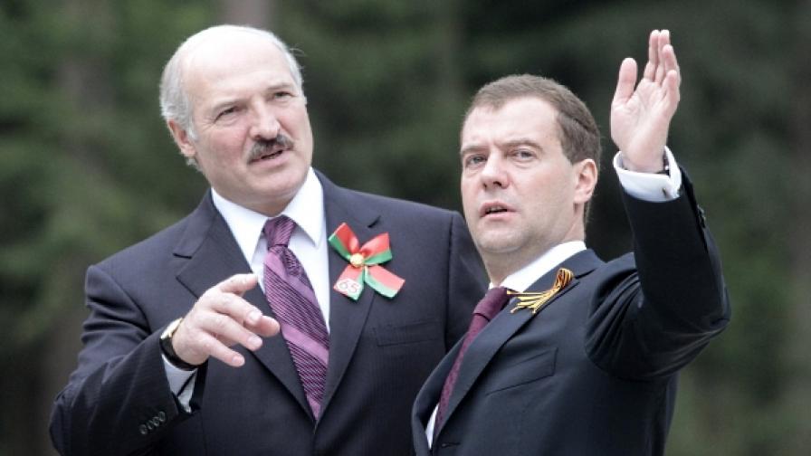 Лукашенко спря транзита на руски газ за Европа