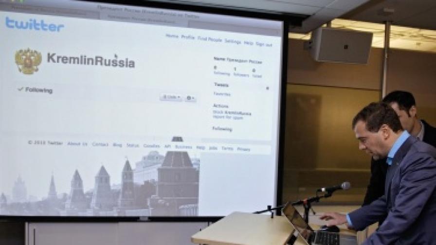 Медведев се замислял за втори мандат