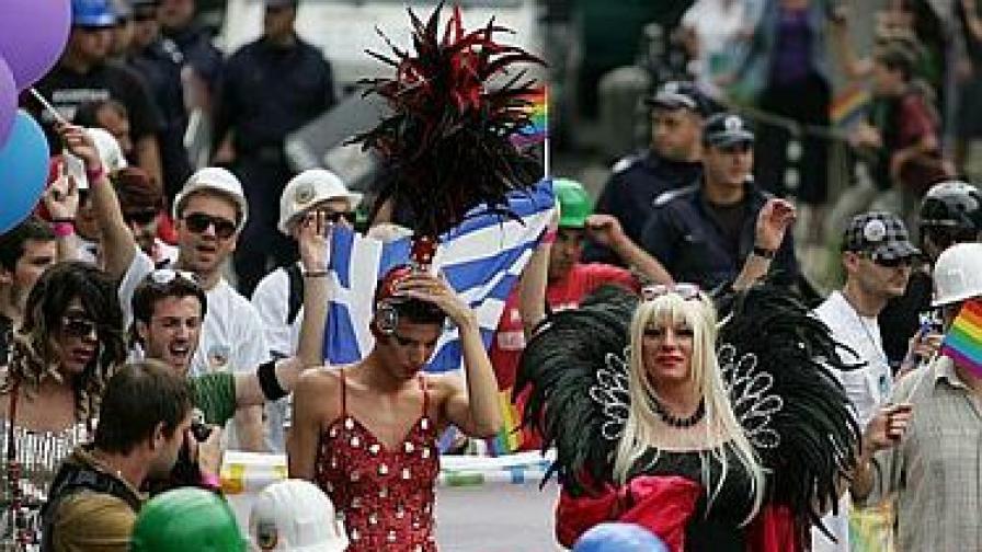 Засилено полицейско присъствие на гей парада