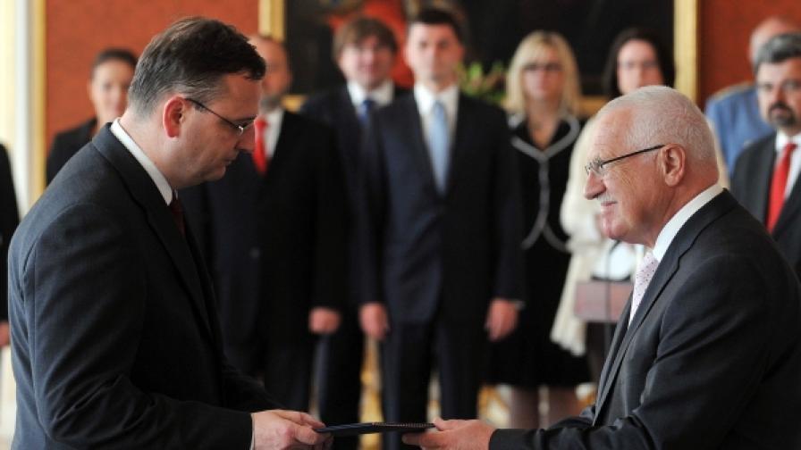 Петър Нечас е новият премиер на Чешката република