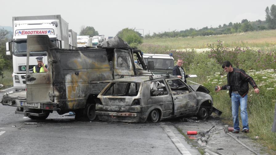 Тежка катастрофа с една жертва затвори Е-79