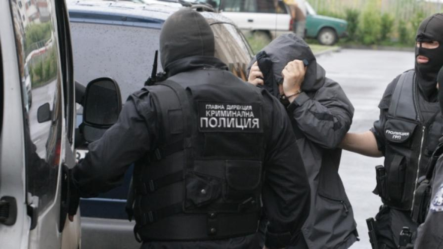 Арестуваният днес Лъчо Белята се смята за най-приближен на търговеца на кокаин Христофорос Аманатидис–Таки