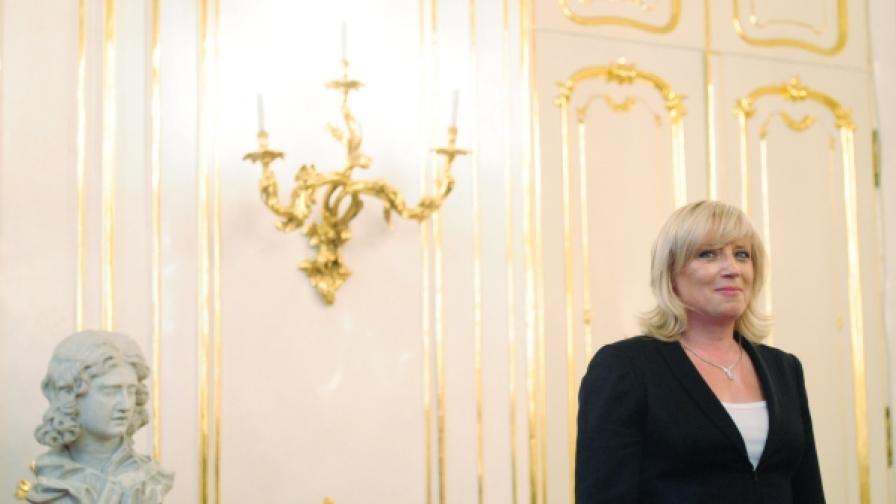Жена за първи път е премиер на Словакия