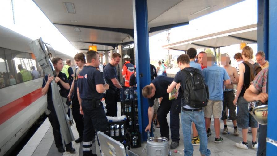 """""""Топлинно"""" разследване в германски влак"""