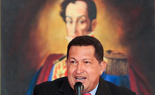 Чавес ексхумира Боливар, за да докаже, че е убит от колумбийци