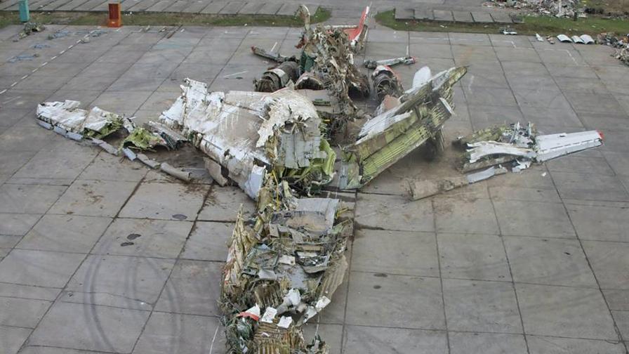Полският самолет излетял без данни за времето