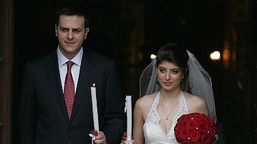 Сватба в президентското семейство
