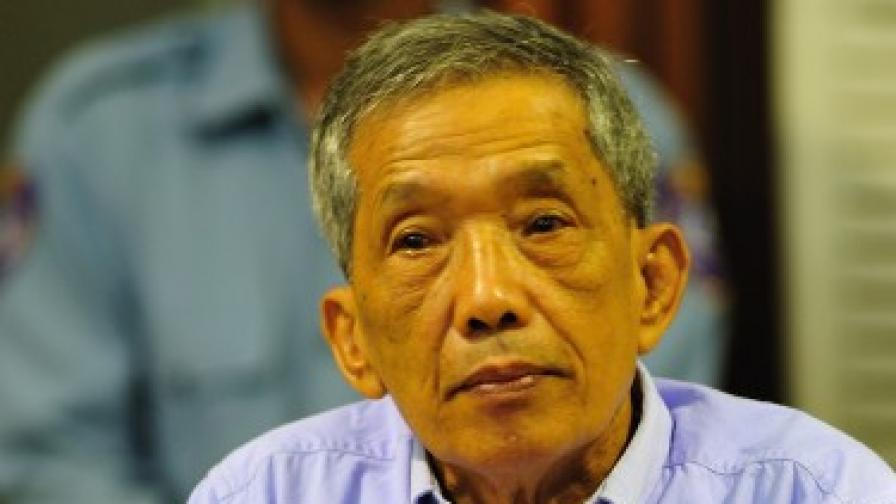 Осъдиха първи лидер на Червените кхмери
