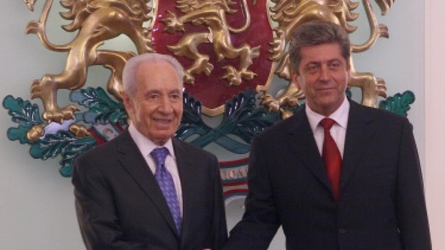 Шимон Перес: Искаме да преговаряме с палестинците у вас